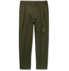 Casely-Hayford Rowley Tapered Cotton-Twill Trousers