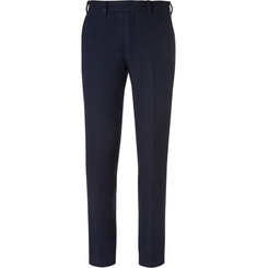 Casely-Hayford - Blue Basatlo Slim-Fit Woven Wool-Blend Suit Trousers