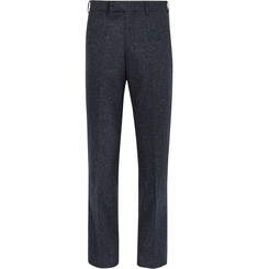 Casely-Hayford - Basalto Slim-Fit Slub Wool-Blend Suit Trousers