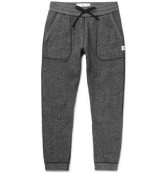 Reigning Champ Tapered Fleece-Back Stretch-Cotton Jersey Sweatpants