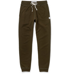 Reigning Champ - Slim-Fit Tapered Loopback Cotton-Jersey Sweatpants