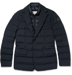 Moncler Ferrand Quilted Stretch-Shell Down Jacket