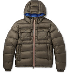 Moncler Morane Quilted Shell Hooded Down Jacket