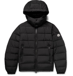 Moncler Brique Quilted Shell Hooded Down Jacket