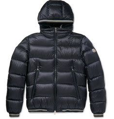 Moncler Jeanbart Quilted Shell Hooded Down Jacket