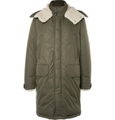 Moncler Grafton Shearling-Trimmed Shell Down Parka