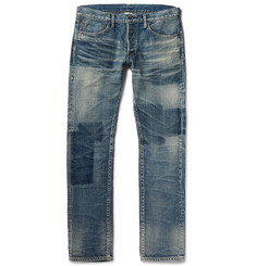 Fabric-Brand & Co - Bowie Slim-Fit Washed-Denim Jeans