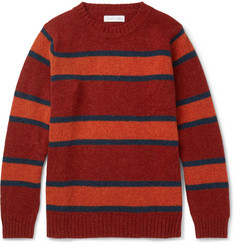 Several Kane Striped Wool Sweater