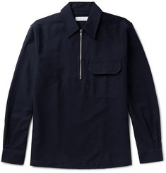 Several Cotton and Wool-Blend Shirt Jacket