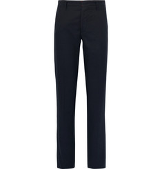 Incotex Nep Silk and Cotton-Blend Trousers