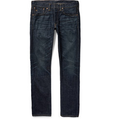 RRL Slim-Fit Washed Selvedge Denim Jeans
