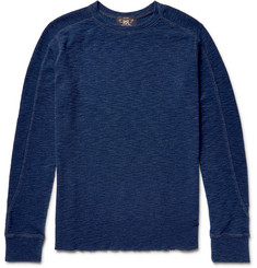 RRL Ribbed Mélange Cotton T-Shirt