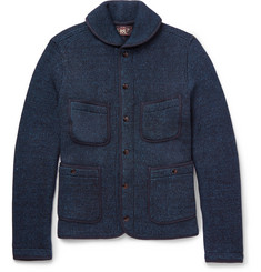 RRL Two-Tone Knitted Cotton Jacket