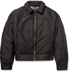 Calvin Klein Collection - Nebraska Shell Down Bomber Jacket