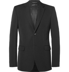 Calvin Klein Collection - Black Bowery Slim-Fit Wool-Faille Blazer