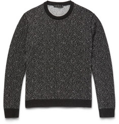 Calvin Klein Collection Newbern Jacquard-Knit Sweater