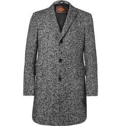 Tod's Slim-Fit Herringbone Virgin Wool-Blend Coat