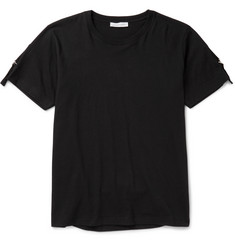 J.W.Anderson Slim-Fit Strap-Detailed Cotton-Jersey T-Shirt