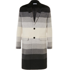 J.W.Anderson Dégradé Striped Wool Coat