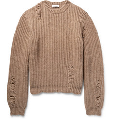 J.W.Anderson Distressed Alpaca and Wool-Blend Sweater