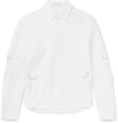 J.W.Anderson Strap-Detailed Cotton-Canvas Shirt