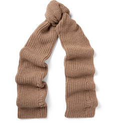 J.W.Anderson Ribbed Alpaca and Wool-Blend Scarf