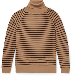 Marc Jacobs Striped Wool Rollneck Sweater