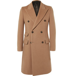 Marc Jacobs Double-Breasted Camel Coat