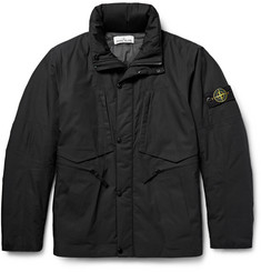 Stone Island Waterproof Cotton-Shell Hooded Jacket