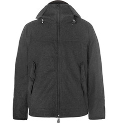 Moncler Grenoble Shell-Trimmed Fleece Mid-Layer Down Ski Jacket