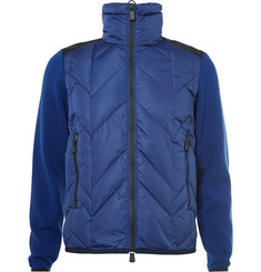 Moncler Grenoble Virgin Wool-Panelled Quilted Down Ski Jacket