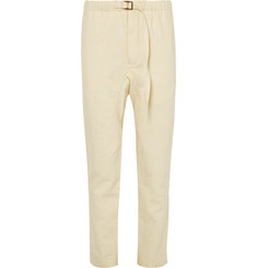 Fanmail - Slim-Fit Tapered Hemp and Organic Cotton-Blend Twill Trousers