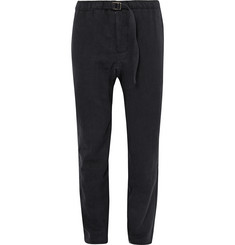 Fanmail Slim-Fit Tapered Hemp and Organic Cotton-Blend Twill Trousers