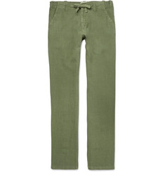Hartford Slim-Fit Linen Trousers