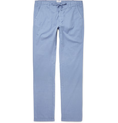 Hartford Slim-Fit Cotton Trousers