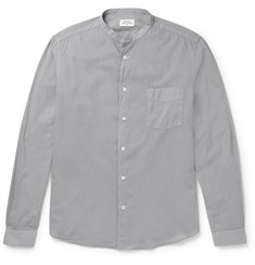 Hartford - Grandad-Collar Cotton Shirt