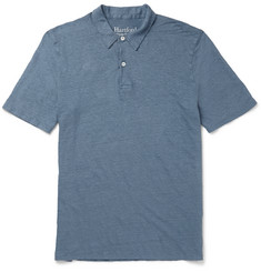 Hartford Slim-Fit Linen Polo Shirt