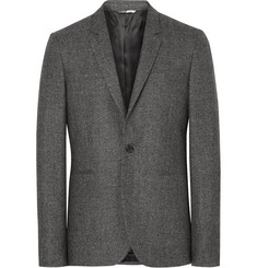PS by Paul Smith Grey Slim-Fit Mélange Wool Blazer