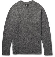 PS by Paul Smith Mélange Merino Wool-Blend Bouclé Sweater