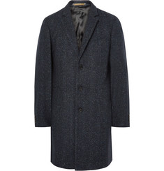 PS by Paul Smith Slim-Fit Herringbone Slub Wool-Blend Overcoat