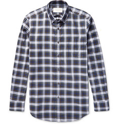 Public School Button-Down Collar Checked Cotton Shirt
