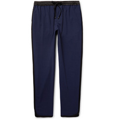 Public School - Ilyn Tapered Striped Stretch-Wool Trousers