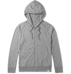 Paul Smith Mélange Cotton-Jersey Pyjama Hoodie