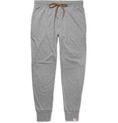 Paul Smith - Slim-Fit Tapered Mélange Cotton-Jersey Pyjama Trousers