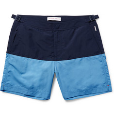Orlebar Brown - Bulldog Mid-Length Two-Tone Swim Shorts