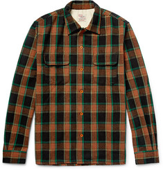 Levi's Vintage Clothing Deluxe Checked Wool-Blend Overshirt