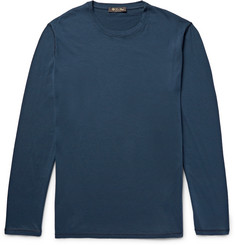 Loro Piana Cotton and Cashmere-Blend Jersey T-Shirt