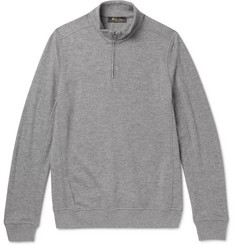 Loro Piana Ski Cashmere Half-Zip Sweater