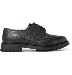 Church's McPherson Textured-Leather Wingtip Brogues