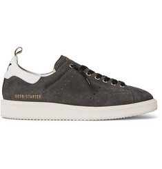 Golden Goose Deluxe Brand Starter Leather and Suede Sneakers